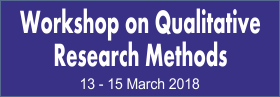 Workshop on Qualitative Research Methods